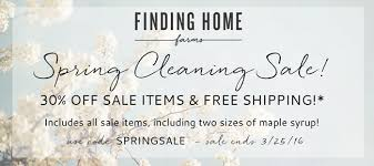 Small Picture Spring Cleaning Sale Finding Home Farms