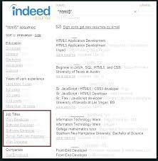 Indeed Jobs Post Resume Wikirian Com