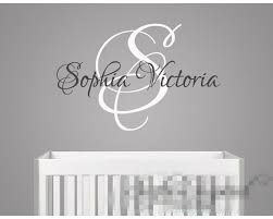 Small Picture Personalised Wall Decals Quotes Custom Your Own Family Initial
