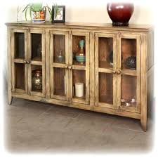 amazing console cabinet with glass doors antique 6 panel accessories furniture tv corner oak stands g