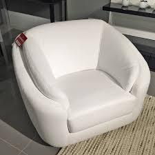 beyond furniture. Rusco-swivel-armchair-pure-white-leather Beyond Furniture U