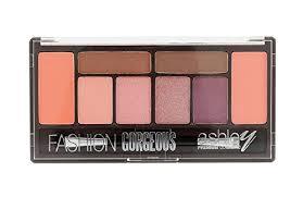 ashley fashion gorgeous makeup kit 2 blush 2 eyebrow and 4 eyeshadow a264 03