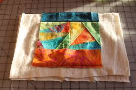 alternate instructions for the more traditional looking cover no art quilty techniques necessary i started with an orphan quilt block but it wasn t