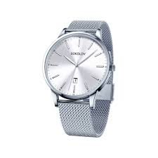 <b>Мужские стальные часы</b>