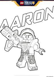 Coloriage Lego Nexo Knights Aaron Jecolorie Com