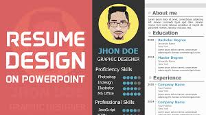 Download Free Creative Resume Template Powerpoint School