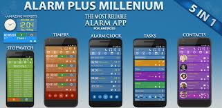 alarm plus millenium paid is a complete and powerful android it includes an alarm clock a stopwatch unlimited timers a task manager