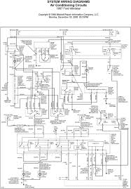 system wiring diagrams air conditioning circuits 1997 ford windstar circuits
