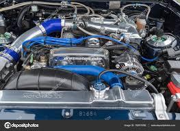 Toyota Supra engine on display – Stock Editorial Photo ...