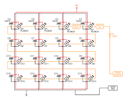 led matrix wiring diagram led image wiring diagram rgb led matrix power too low electrical engineering stack exchange on led matrix wiring diagram