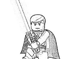 Small Picture Lego luke skywalker coloring pages all about lego lego star wars