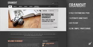 Psd Website Templates Beauteous Granight PSD Web Template By PixelBaste ThemeForest