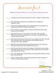 narrative writing transition words lesson plan com review