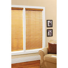 com better homes and gardens 2 faux wood windows blinds oak home kitchen