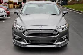 customized ford fusion blacked out. cool ford fusion roof wing with blacked out customized b