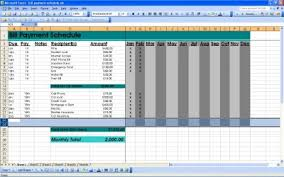 Free Printable Bill Payment Schedule Bill Payment Schedule Excel Bill Payment Schedule