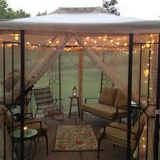 Outdoor Gazebo Lighting Extraordinary Best 32 Gazebo Lighting Ideas On Pinterest Balcony Lighting Outdoor