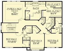 5 Bedroom Floor Plan Interesting Design