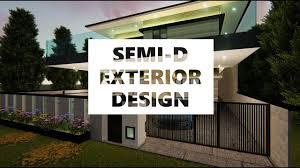 Landscape Design For Semi D House Semi D House Exterior Design View Lumion 8
