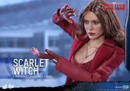 hot toys capn america civil war scarlet witch collectible figure pr 13