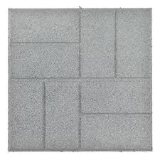 combat global waste with recycled rubber paver tiles