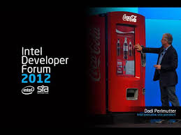 Vending Machine Forum Magnificent SIA Interactive At Intel Developers Forum Opening Keynote