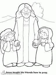 Kleurplaat Jezus
