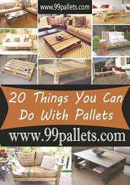 ... What To Do With Pallets Endearing Diy Pallet Furniture 20 Things You  Can Do With Pallets ...