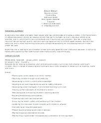 Resume Objective For Preschool Teacher Best of Montessori Teacher Resume Sample Universitypress