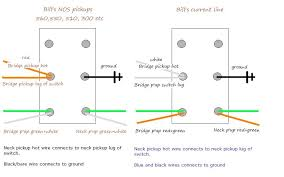 wiring instructions for pickups in bill lawrence wilde gate forum from gatguy