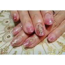 ピンク ラメグラデーション Nail Salon Shandiネイルサロンシャンディ