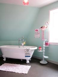 modern funky pink bathroom. Pink Flamingo In The Bathroom? How Chic. Copy Style For A Playful Retro Modern Funky Bathroom E