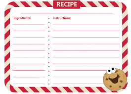 Christmas Recipe Cards Template How To Host A Christmas Cookie Exchange Hungry Happenings