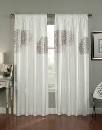 Floral Contemporary Curtain Panels