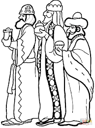 Small Picture 3 Wise Men coloring page Free Printable Coloring Pages