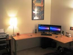 wooden corner desk. Wood Corner Computer Desk Ideas Wooden T