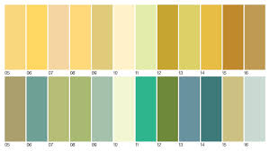 Dulux Colour Chart 2012 Colours Past Dulux