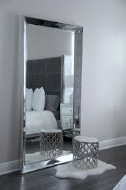 Antique Leaner Mirror For Your Room Decoration Ideas: Silver ...