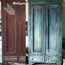antique armoire furniture. Antique Armoire DIY Paint Furniture Makeover And A How To Video Tutorial C