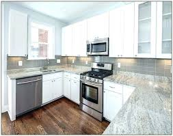 gray quartz light remarkable cur dark countertops white kitchen cabinets with grey much pric