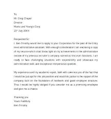 Letter Of Application For Teaching Assistant Uk