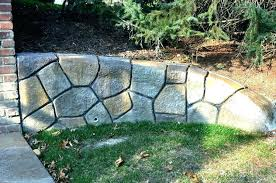 concrete bags retaining walls concrete building in a bag how to build retaining wall image of