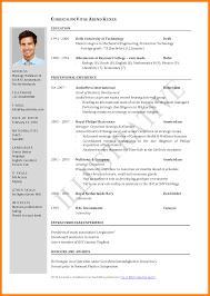 International Biodata Format Cv Template Job Application Job Resume Format Curriculum