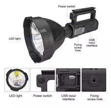 ⭐ Đèn pin công trường ⭐ Đèn pin công suất lớn ⭐ Đèn pin cầm tay W591 siêu  sáng chuyên chiếu sáng công trường, nhà xưởng - Bảo hành 12 tháng