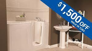 save 1 500 on a walk in tub installation