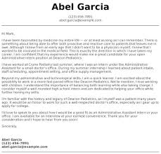 High School Student Cover Letter Examples Samples