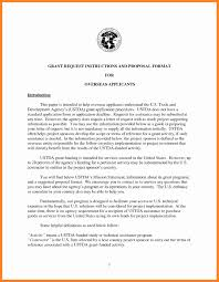 Letter Proposal Format Format Of A Business Proposal Letter Example 5