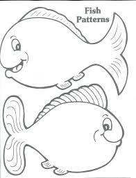 Small Fish Template Fish Template To Cut Out Tatilvillam Co