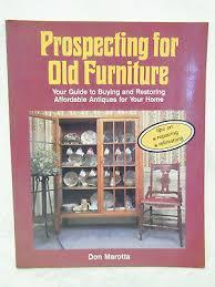 Vintage: Prospecting for Old Furniture- Don Marotta   eBay