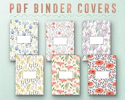 Printable Binder Inserts Printable Inserts Printable Covers Binder Insert Binder Covers Covers A4 Binder Covers Binder Set School Binder Cover Printable Dashboards